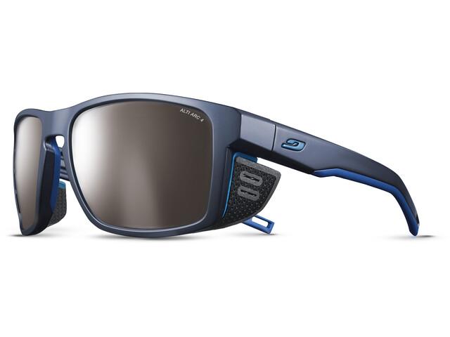 Julbo Shield M Alti Arc 4 Sunglasses, dark blue/blue